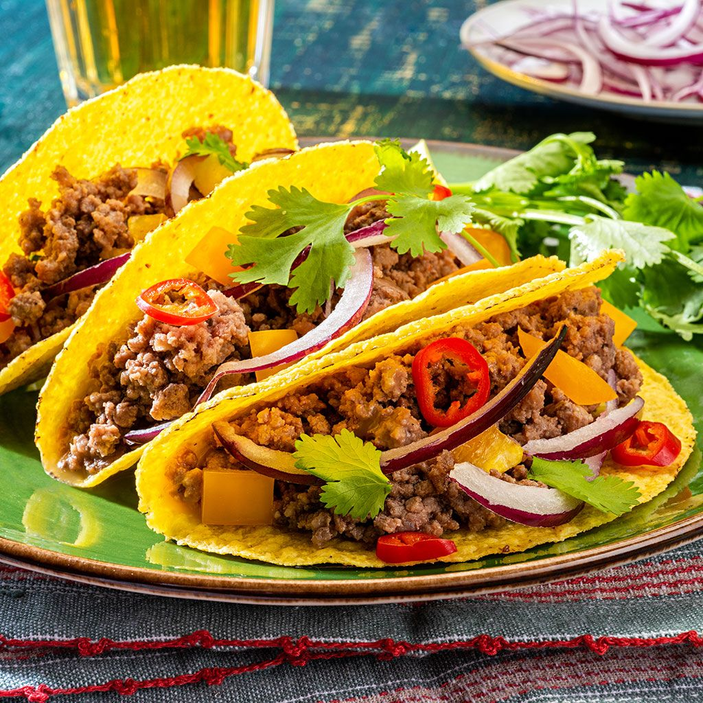 How to make survival tacos from survival food.